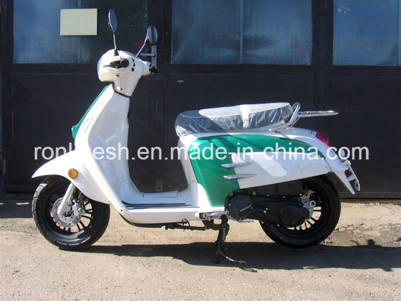 Lambretta/ Retro/Vintage/Vespa Style 49cc/125cc Scooter/Moped/Roller/Motorcycle with 25kmh/45kmh/85kmh, 12in Tire EEC, Coc