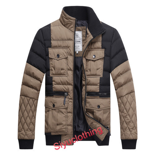 Men Leisure Outdoor Winter Coat Fashion Jacket (J-1611)