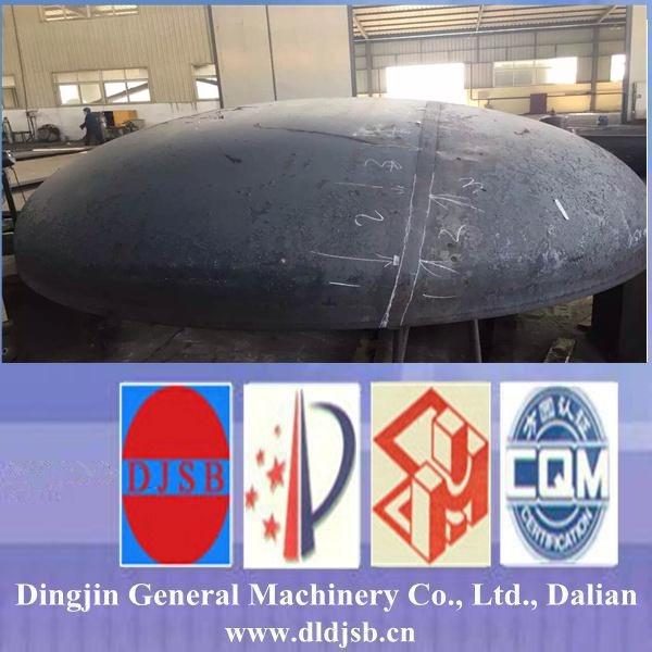 Carbon Steel Tank Type Torispherical Head