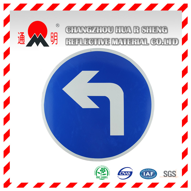 Traffic Sign with Reflective Material (TM7600)