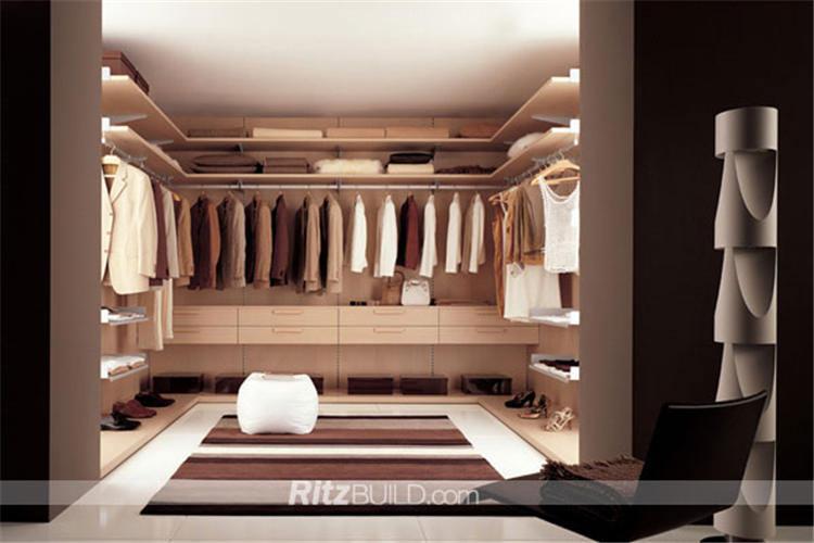 Free Design Customized Europe Style MDF Wardrobe