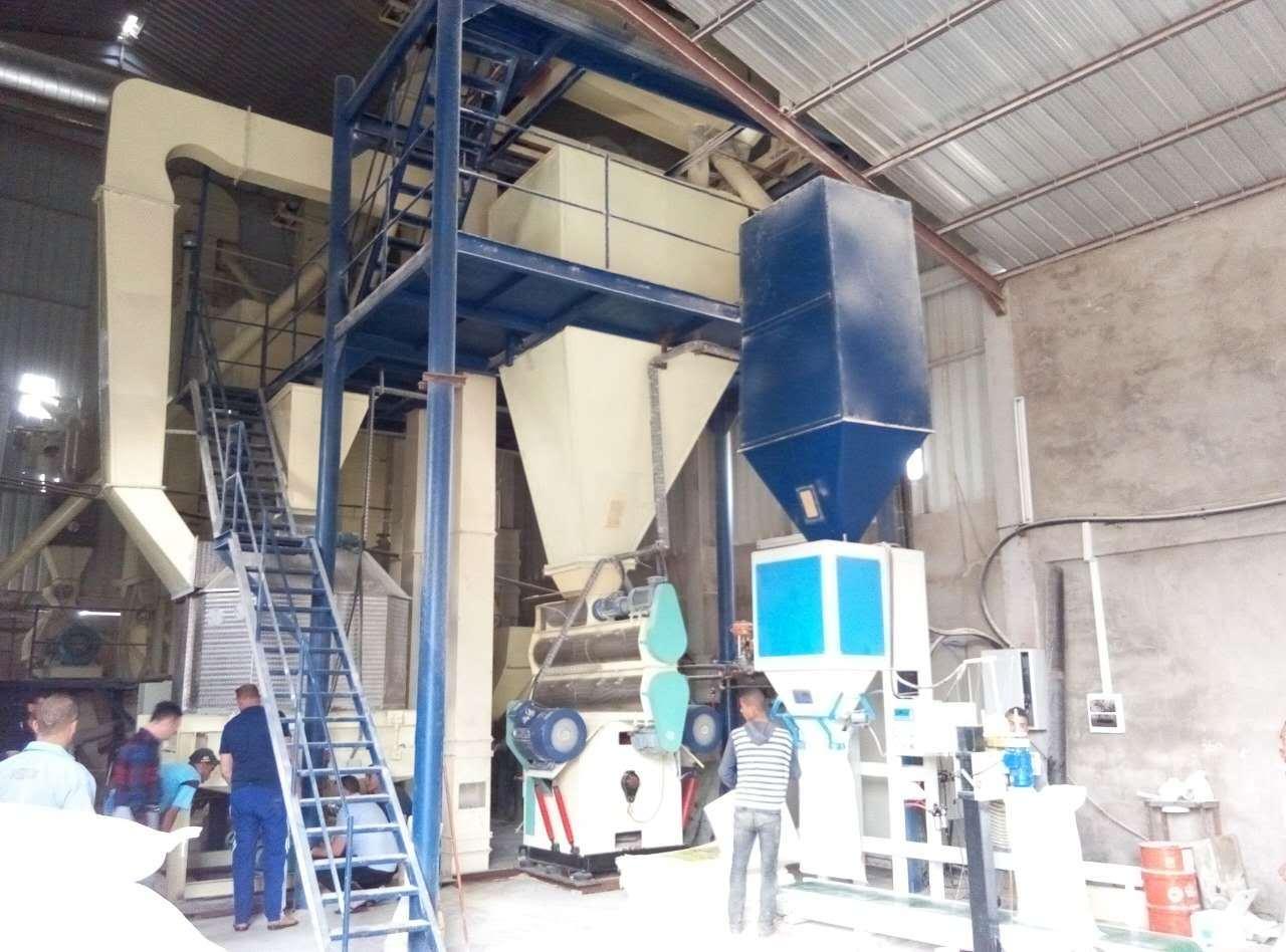 Hkj40 Animal Feed Pellet Mill