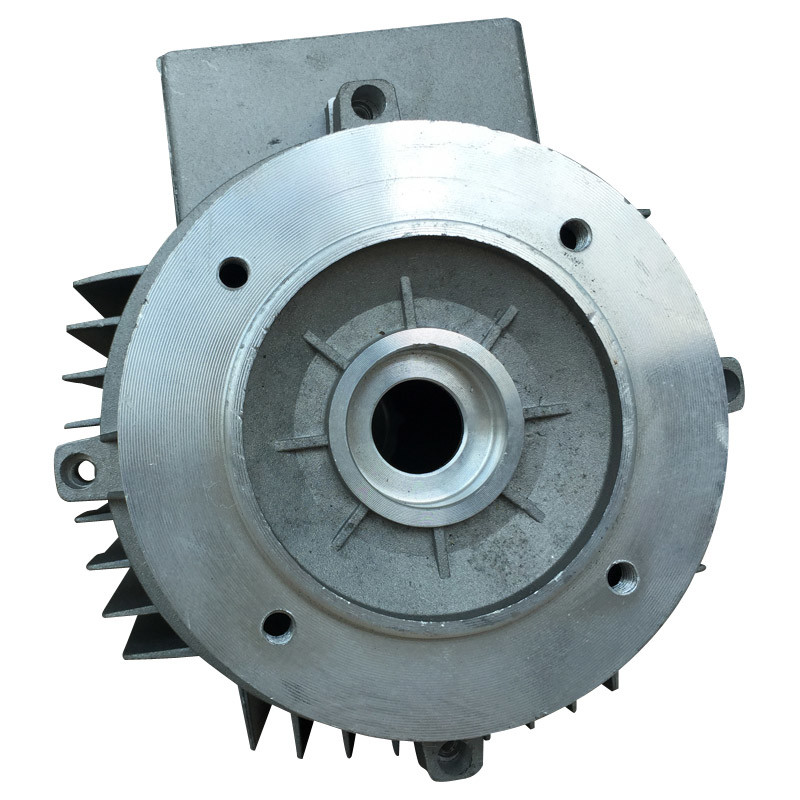 Aluminum Extrusion Motor Shell with Die Casting