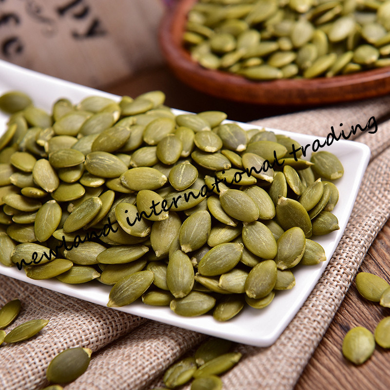 Chinese Shine Skin Pumpkin Seeds Kernels with High Quality AA