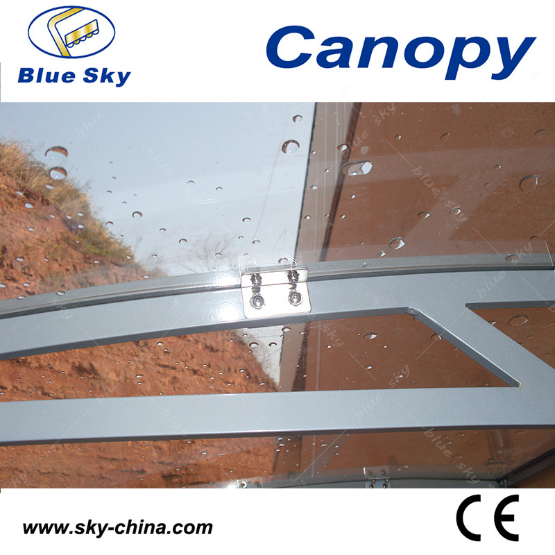 Waterproof Aluminum and Polycarbonate Window Canopy (B900-3)