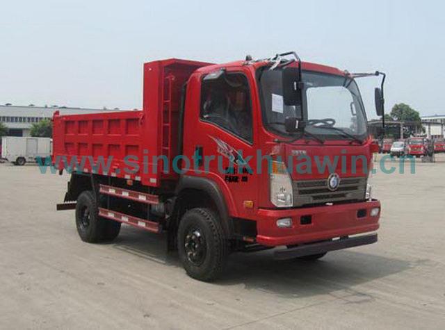 Sinotruk Cdw 16 Ton 160HP 4X2 Tipper Truck