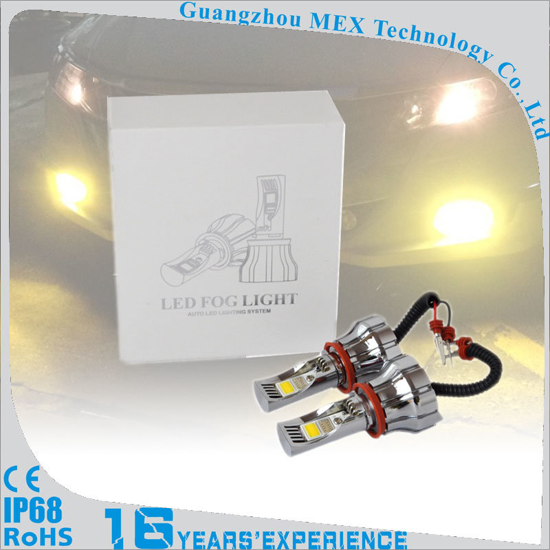 Auto Universal Bulb LED Fog Light H8 H9 H11