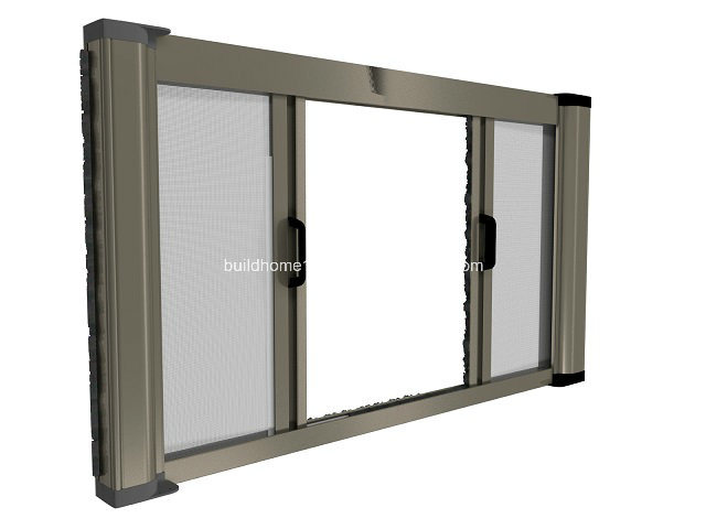 Coil Rolling up and Down Window Insect Mosquito Net