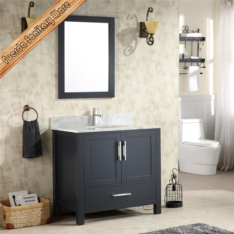Top Quality Solid Wood Bathroom Vanity, Bath Cabinet