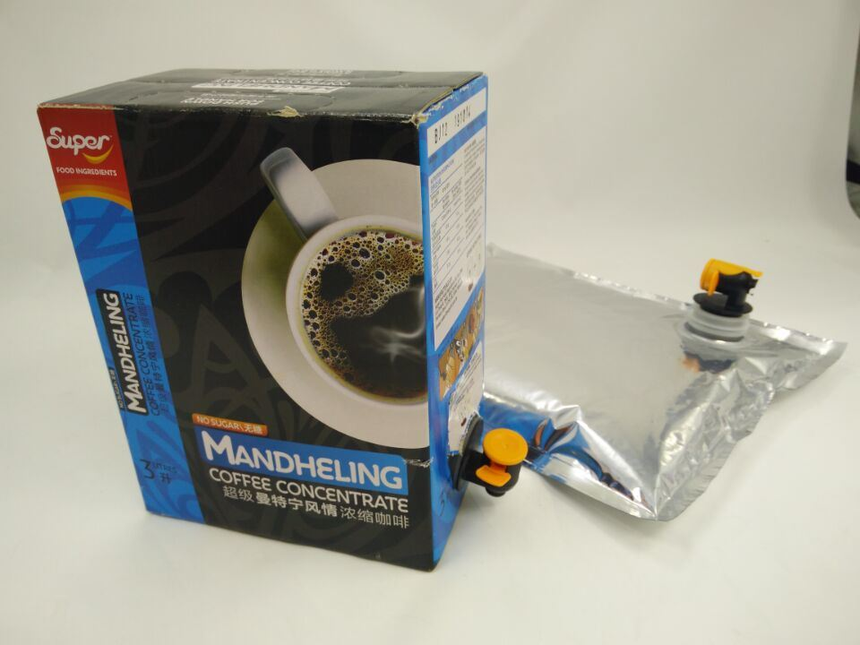 Bag-in-Box for Coffee and Tea