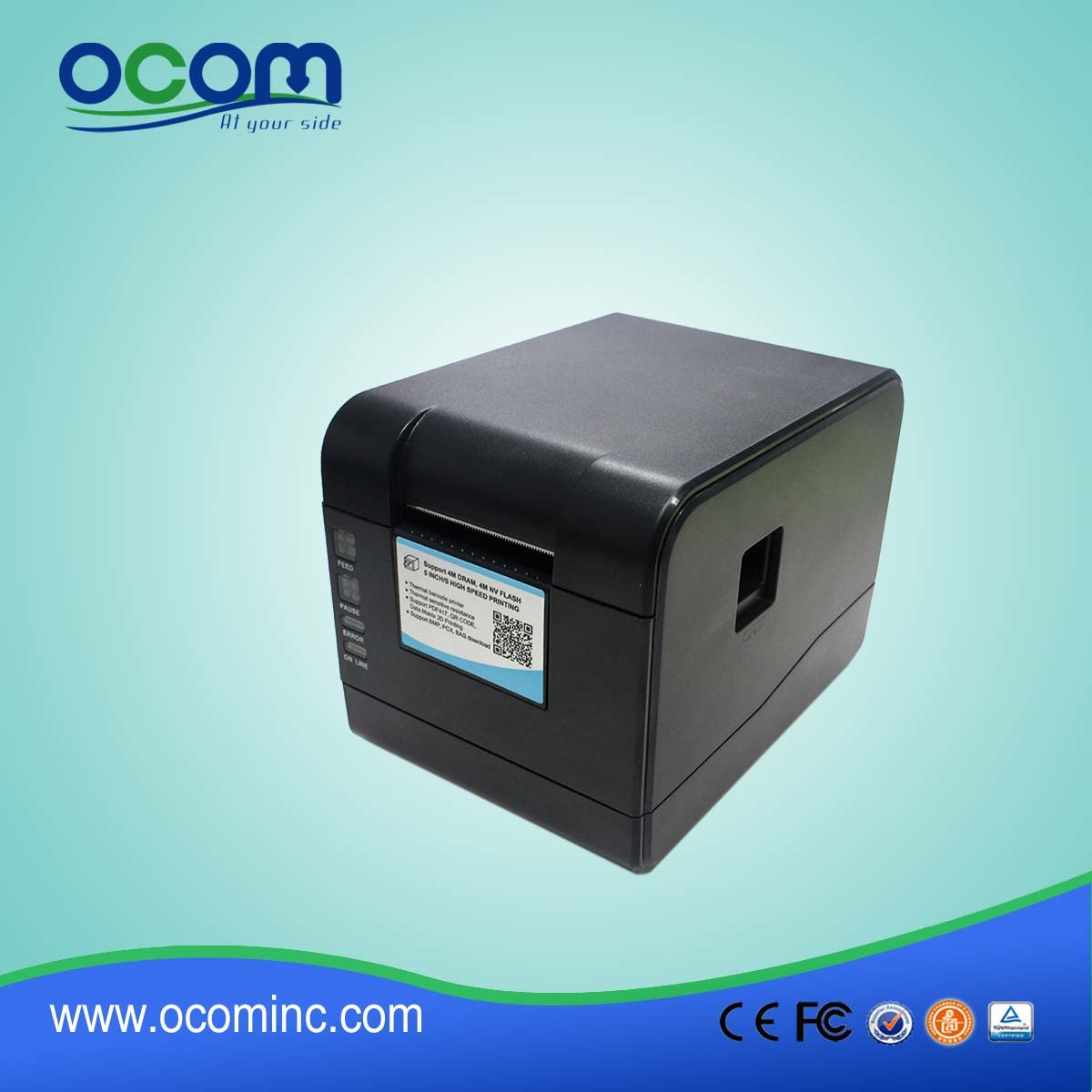 Ocbp-006 Industrial Label Bar Code Printing Printer