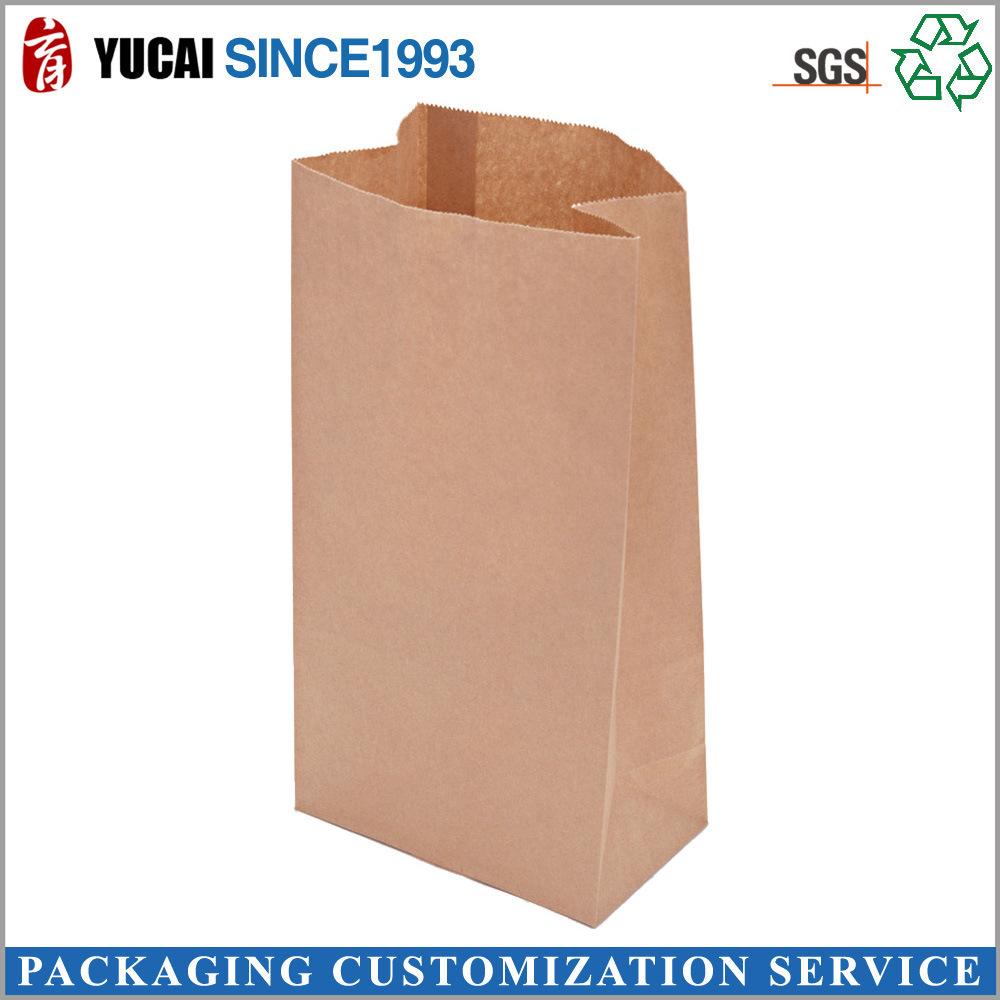 china kraft paper valve bag wholesale customized baking