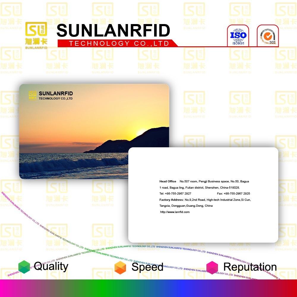 PVC RFID Smart Card/PVC ID Card with High Quality