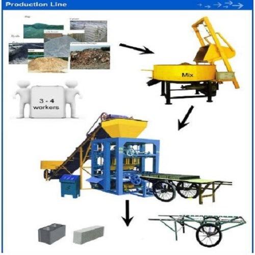 Famous New Brand Semi Automatic Brick Making Machine of China Manufacture