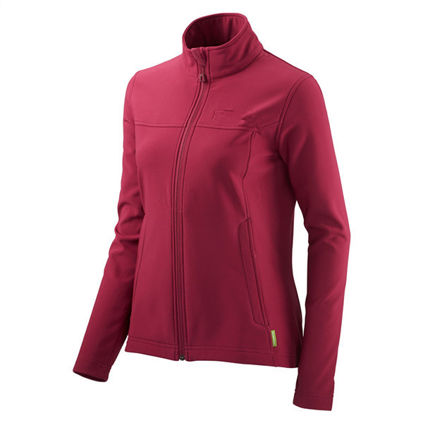 Womens Waterproof Winter Red Softshell Jacket with High Quality