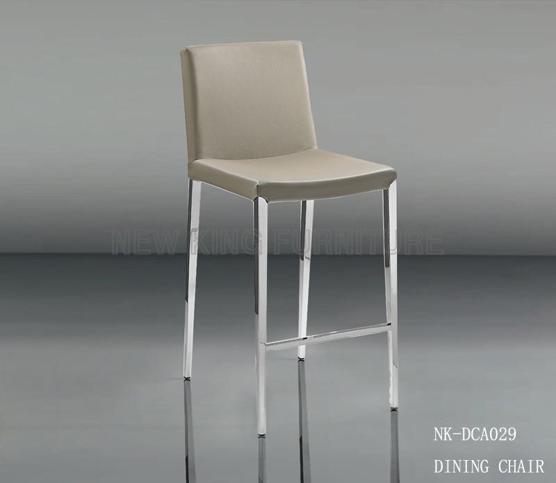 Modern Bar Chair Price New Elegant Grey Steel Chair (NK-DCA029)