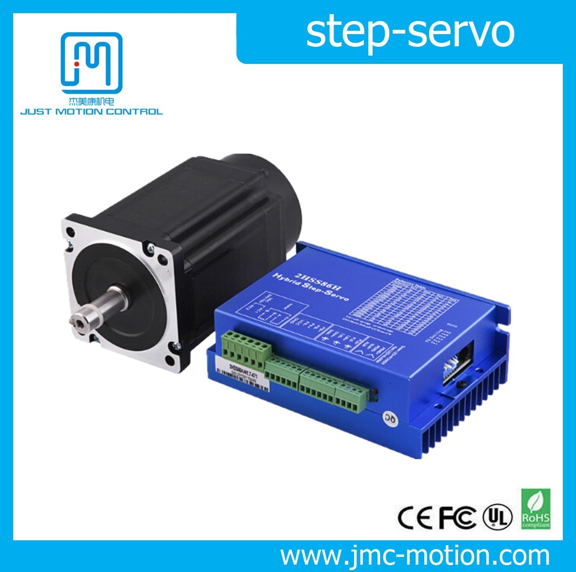 2 Phase NEMA 34 Closed Loop Easy Stepper Servo Motor
