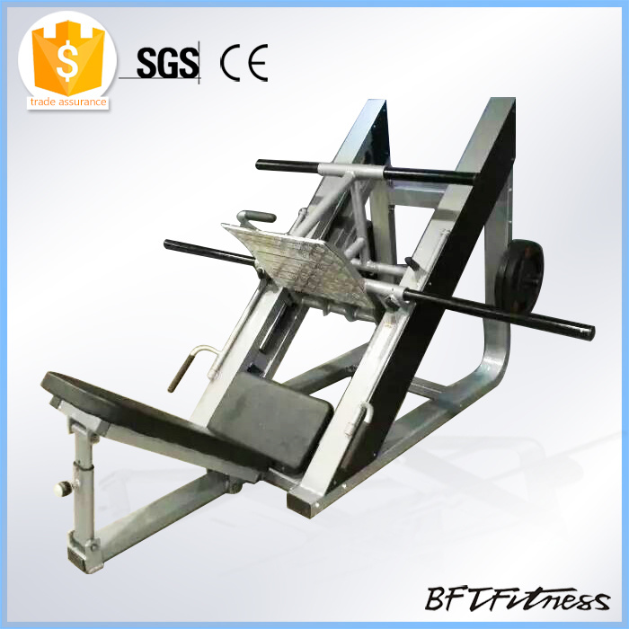 Plate Loaded Gym Leg Press Machine, Pure Strength Plate Loaded Fitness Machine