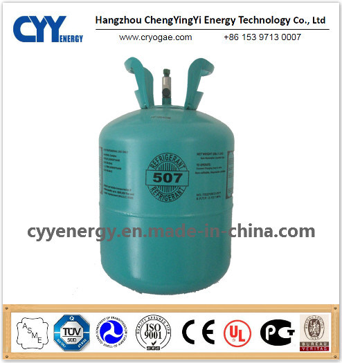 High Quality 93% Purity Mixed Refrigerant Gas of Refrigerant R507