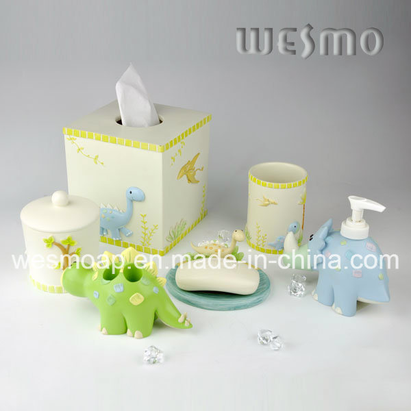 Kids Style Polyresin Bathroom Set (WBP0888A)