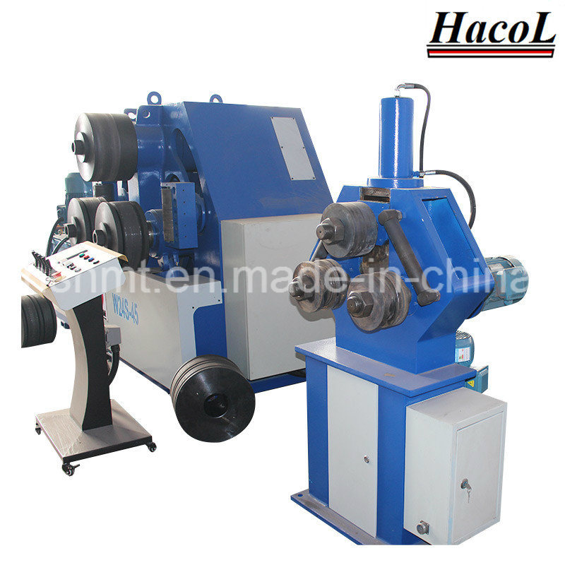 W24s Full Hydraulic Profile Bending Machine/W24 Hydraulic Pipe Bending Machine /Flat Bar Bending Machine/Tube Bender/Section Roller