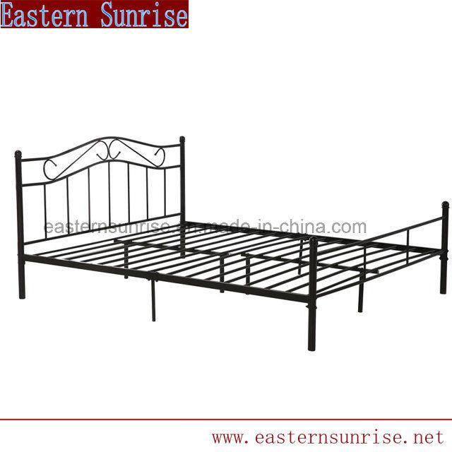 Unique Design Metal Double Queen Bed for Hotel