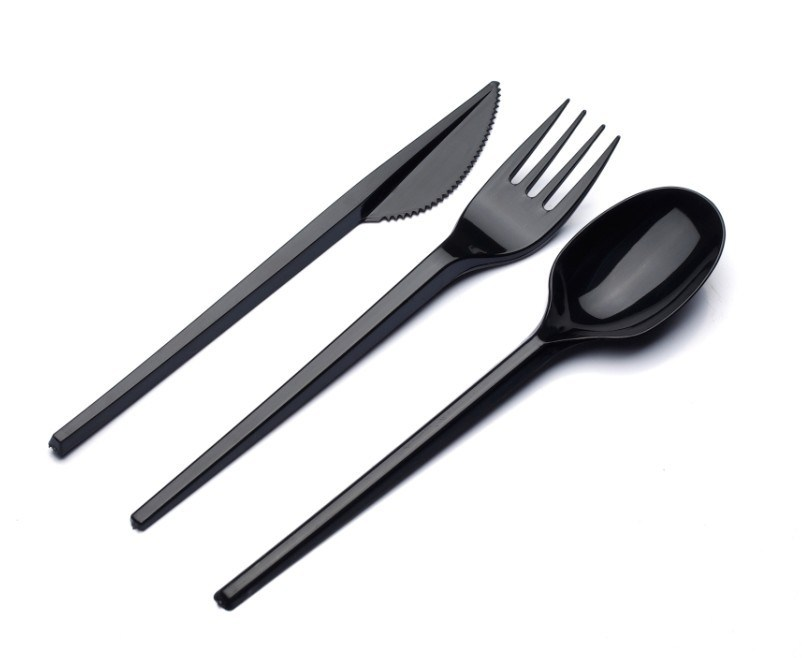 Disposable Transparent Light Weight Plastic Cutlery