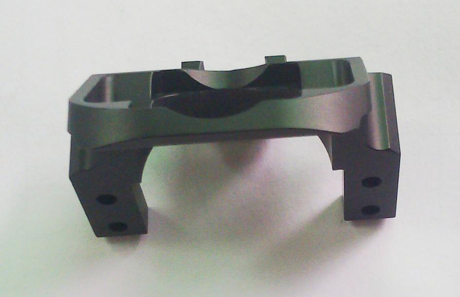 Complex Precision Aluminum Part