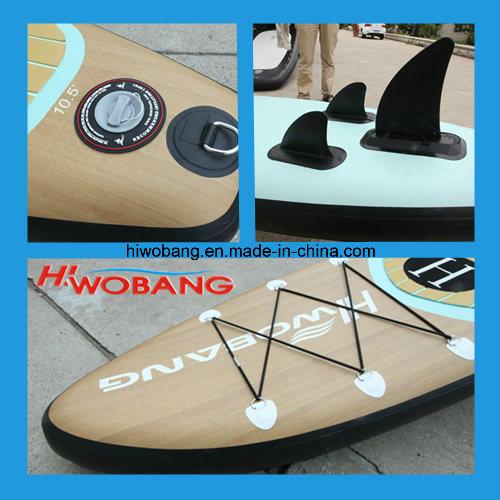 Wooden Grain Pattern Sup Board, Paddle Board, Surf Board