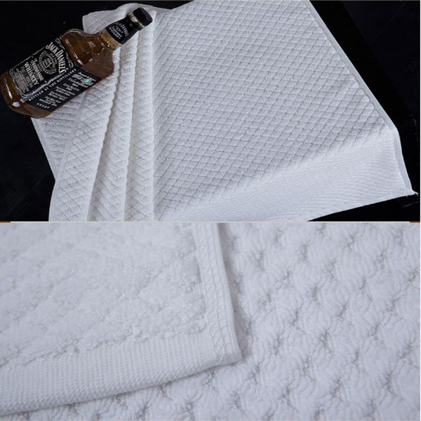 High Quality 100% Cotton Bath Mat From China Factory (DPF10793)
