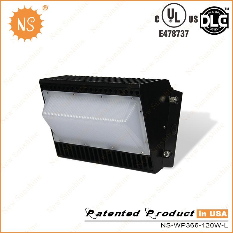 UL (E478737) Dlc Listed IP65 PC 120W LED Wall Pack Lighting