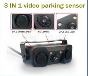 3 in 1 Video Car Parking Sensor Systems