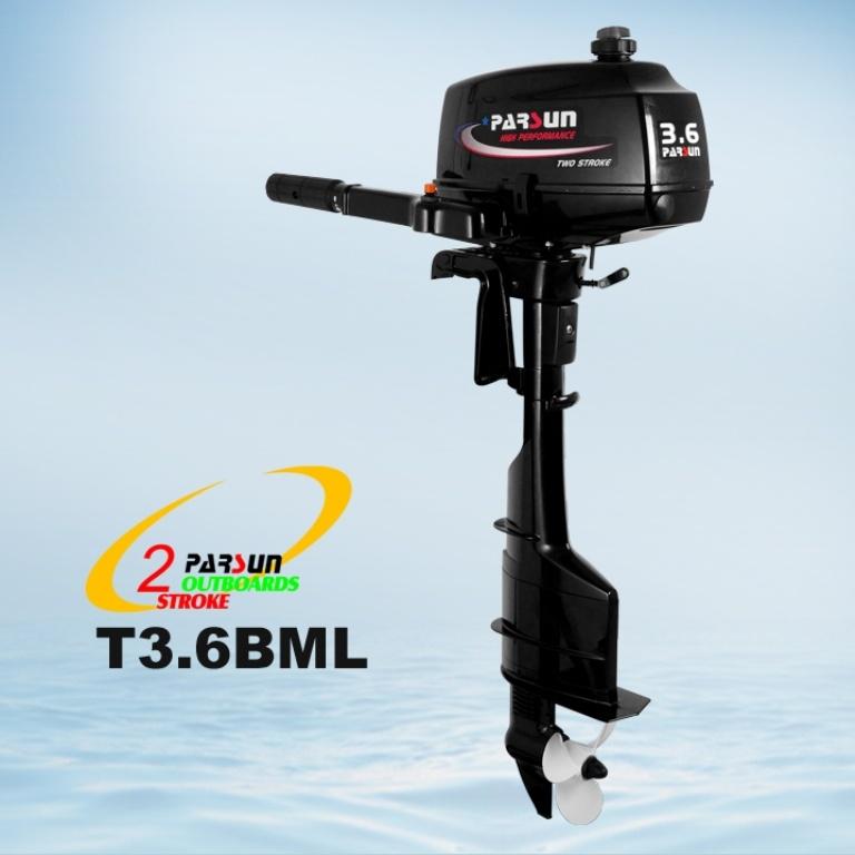 3.6HP 2-Stroke Outboard Engine