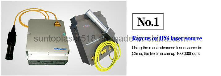 Fiber Laser Etching for Stainless Steel/Laser Color Printer/Laser Printing Machine
