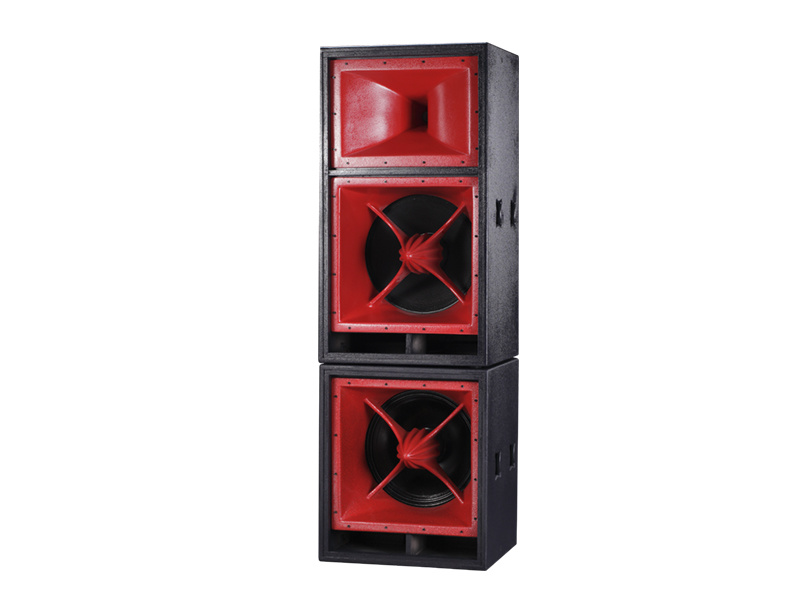 Professional Three-Way Long Throw Stadium Speaker