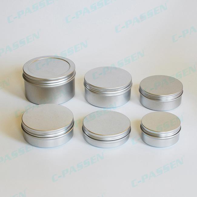 Customize Aluminum Jar for Cosmetic Packaging (PPC-AJ-001)