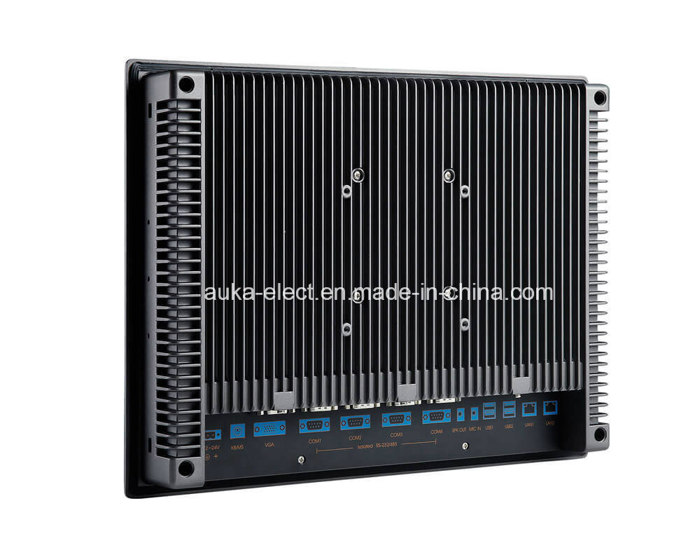 """15"""" Industrial Panel Computer with Windows XP/7/10/Linux, Magnesium Alloy Body"""