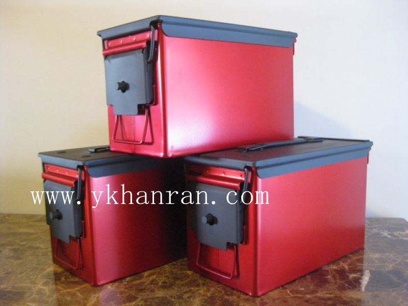 Metal Tool Box, Waterproof Tool Box, Army Quality Level