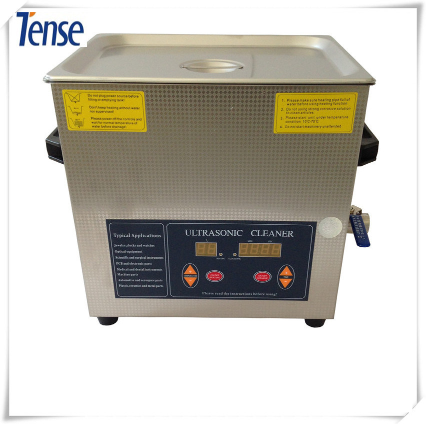 Shanghai Tense Ultrasonic Cleaner with 40 kHz Frequency with Heating Function for Smaller Auto Parts (TSX-360ST)