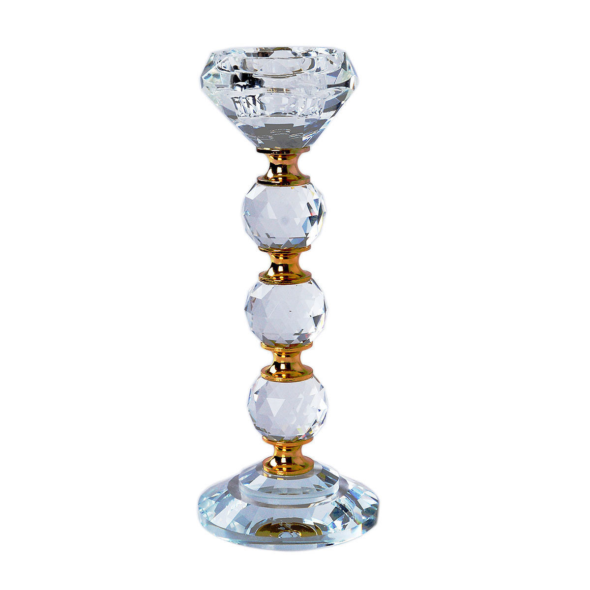 Crystal Tea Light Holders Candle Holders Candlestick Wedding Table Decoration