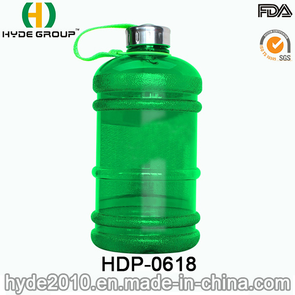 Colorful Outdoor PETG Plastic Water Bottle, 2.2/1.89L Plastic Sport Water Bottle (HDP-0618)