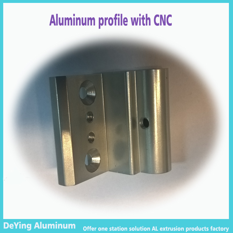 Aluminum Hardware Profile with Great Surface Finishing for Connection of Doors, Cabinet, Desk