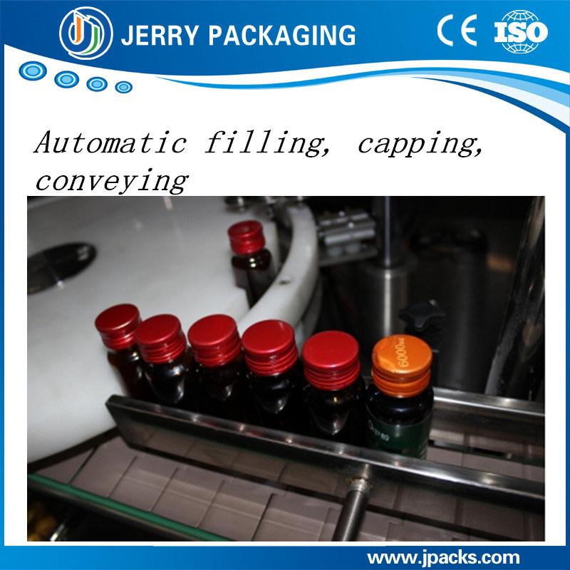 Automatic Vitamin Syringe Liquid Glass Bottle Filling & Capping Machine