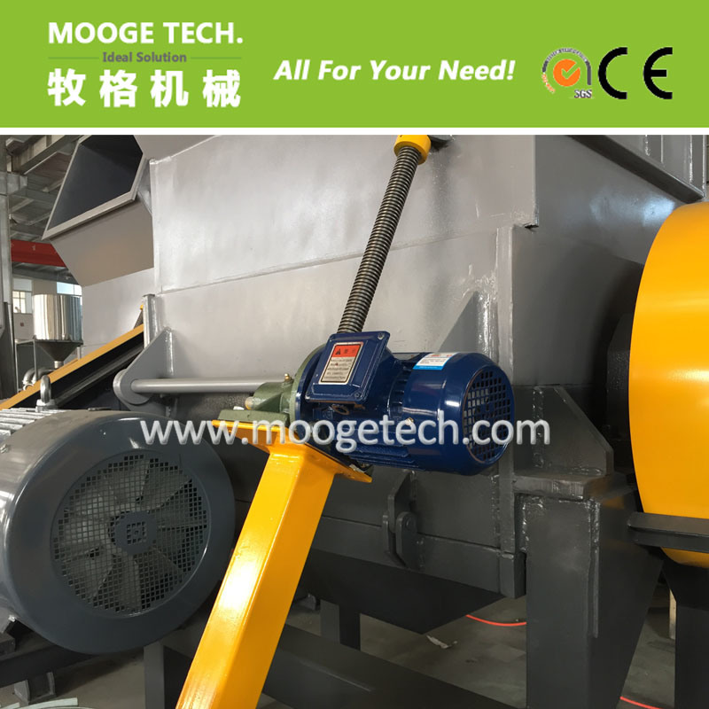 Waste pet plastic bottle crusher / plastic crushing machine