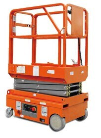 Mini Scissor Lift Table for One People - 4m
