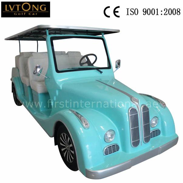 Luxury 8 Seats Electric Classic Car Wholesale