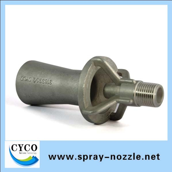 China stainless steel eductor nozzle ss fluid mixing