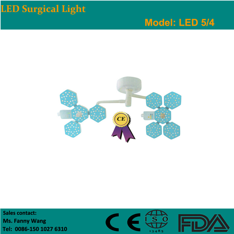 2015 LED Ceiling Surgical Light with Two Heads (LED5/4) -Fanny