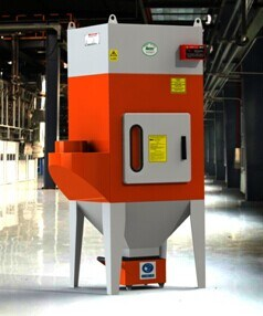 Industrial Multiple Cartridge Filter Dust Collector, Educational Welding Fume Extraction Filtration