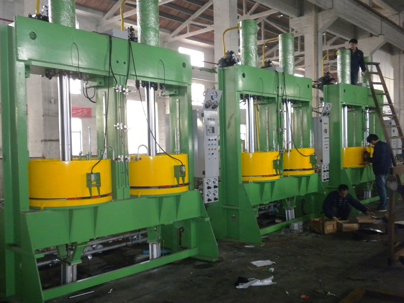 Two-Layer Curing Press Machine for Inner Tube with Hydraulic